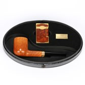S.T.Dupont Castello 130th Anniversary Limited Edition Pipe & Lighter